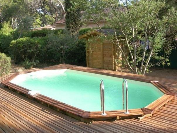 Il mondo delle piscine fuori terra - Piscina interrata piccola ...