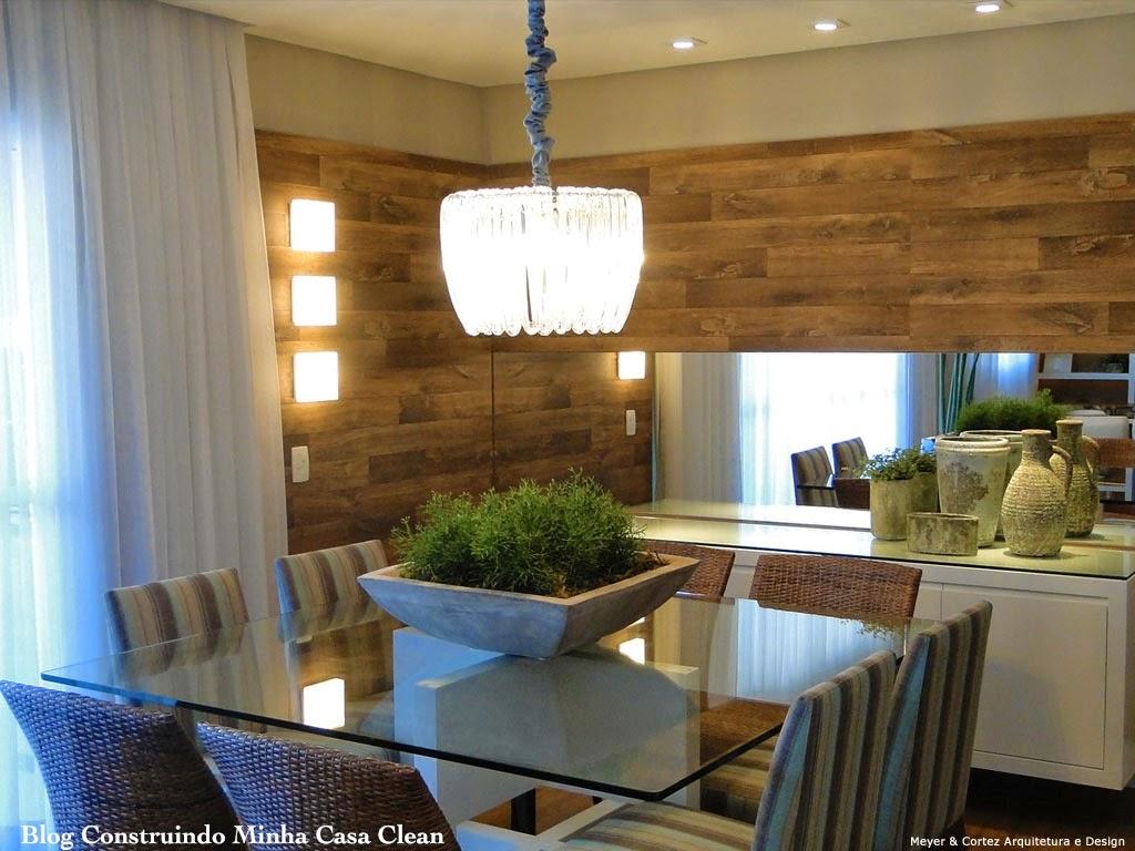 #216AAA Sala de jantar com 3 arandelas modernas de acrílico! 1024x768 píxeis em Ambientes Decorados Sala De Tv