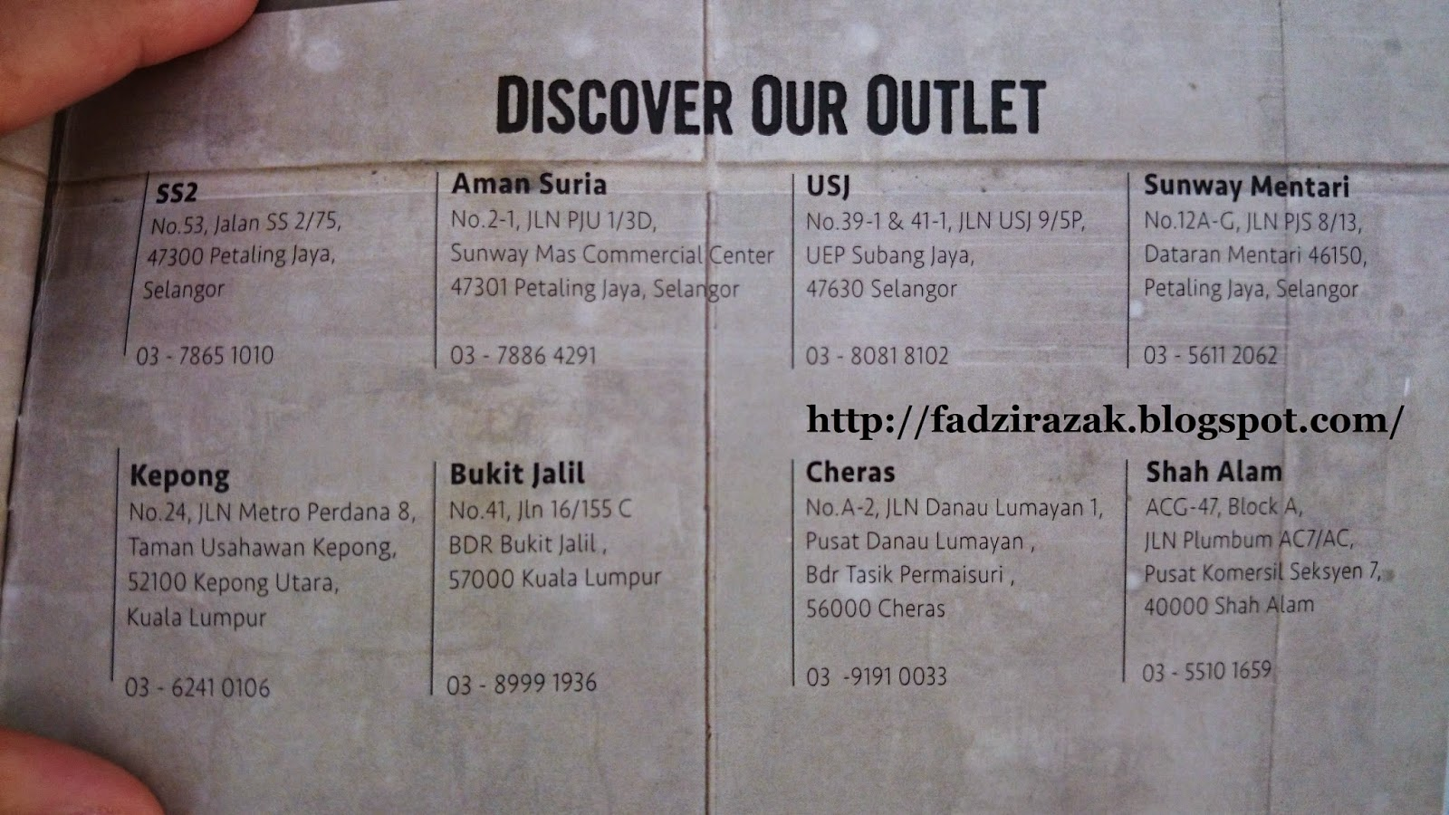 Murni Discovery Outlet