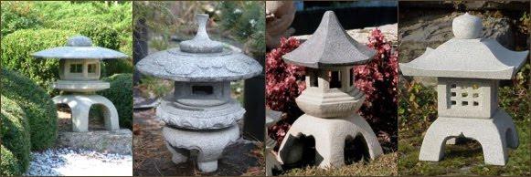 fotos linternas-lamparas-pagodas japonesas Yukimi gata