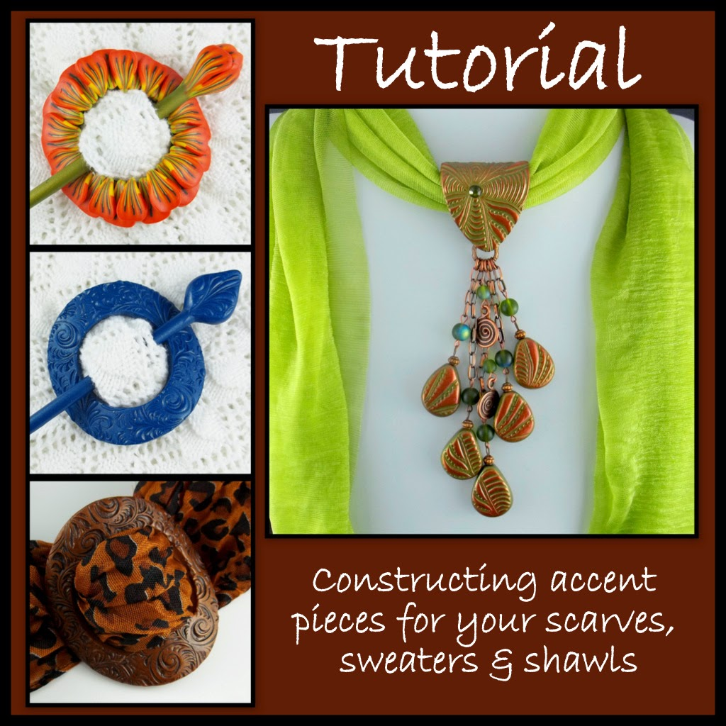 ... Claymates: Creating Shawl Pins and Scarf Jewelry in Your Own Style