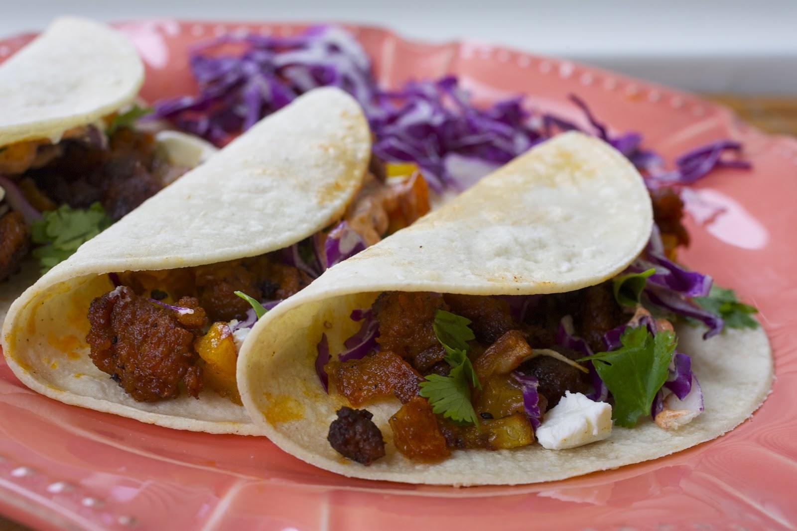... It with Beth: Potato, Chorizo & Goat Cheese Tacos with Smoky Aioli