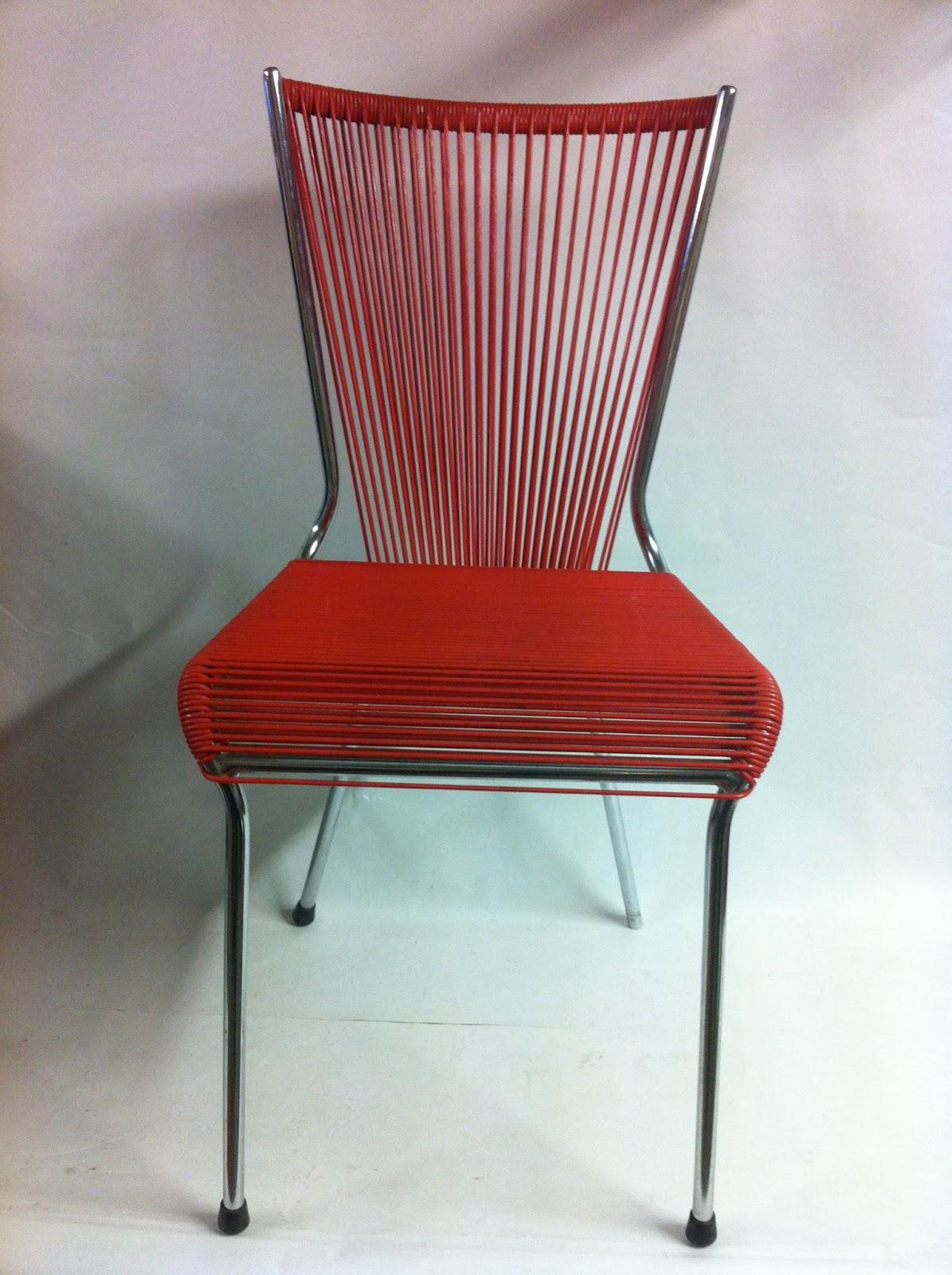 Mobilier scoubidou chaise - Chaise scoubidou vintage ...