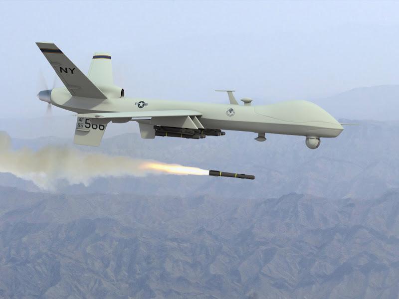 MQ-9 Reaper Hunter-Killer UAV