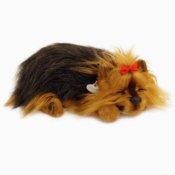 Peluche Mascota que Respira Cachorro Terrier