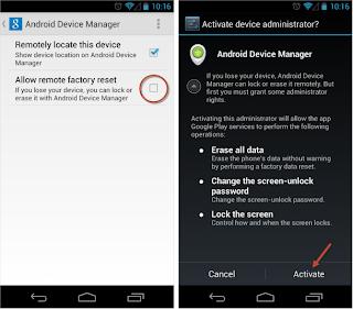 Temukan Lagi Ponselmu Yang Hilang dengan Android Device Manager
