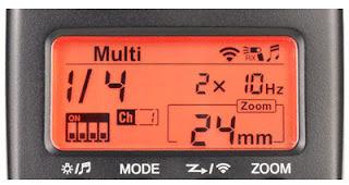 maksud  '4x10 Hz' pada Flash Kamera