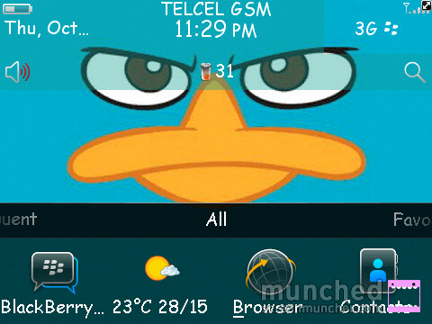 Tema South Park (Blackberry) - Descargar