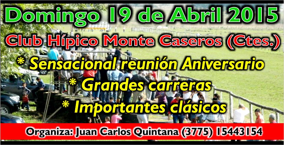 MONTE CASEROS - 19.04.2015