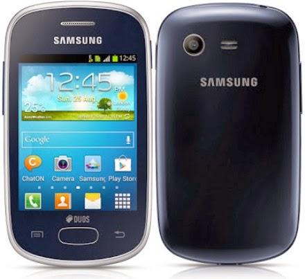Lihat Spesifikasi lengkap atau bisa HP Android Samsung Galaxy Star ...
