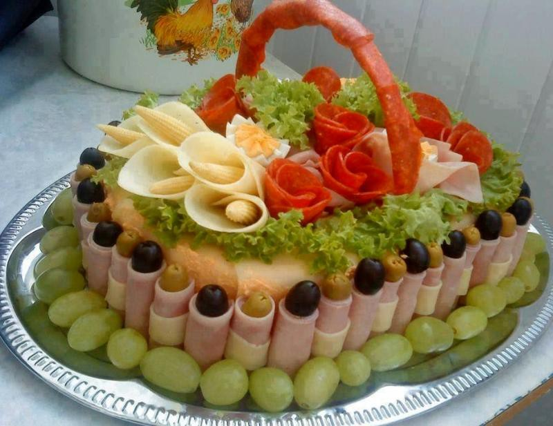 Вкусные торт на праздничный стол