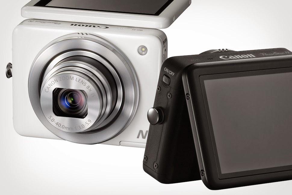 Zoom y Memoria Canon PowerShoot N
