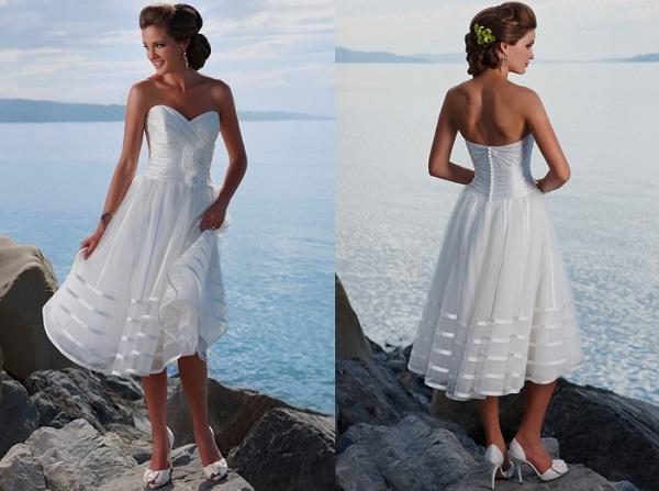 Beach wedding dress ideas Weddings in Greece
