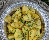 Finnish Potato Salad (A Veggie Venture)