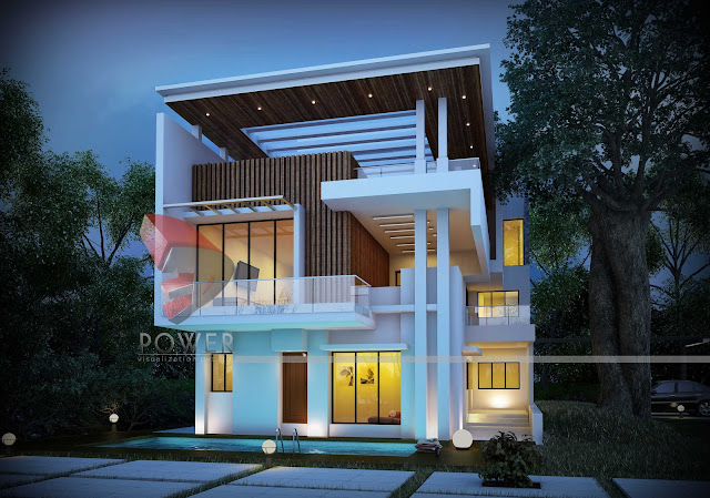 Modern architecture house designs for Ultra modern building design