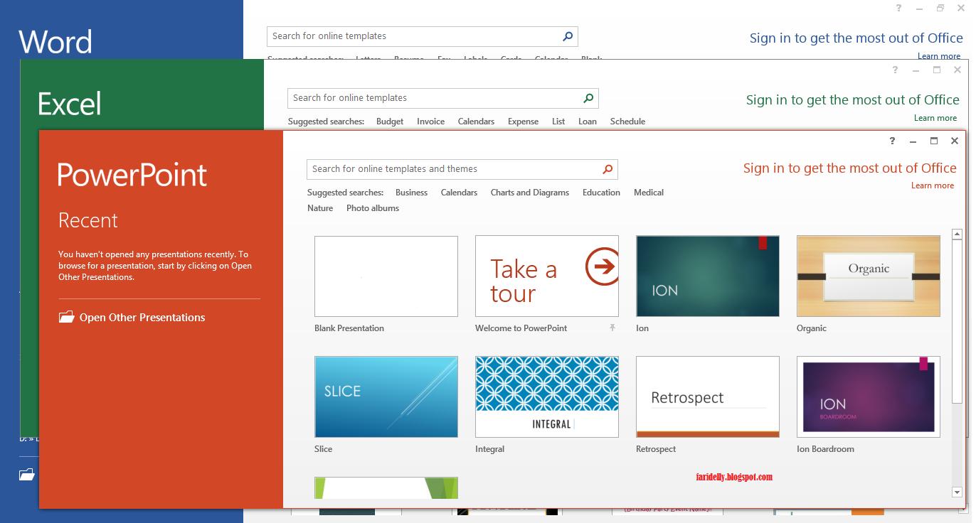 Microsoft Office 2013  скачать бесплатно  Microsoft