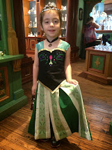 Princess Frozen Anna Coronation Dress