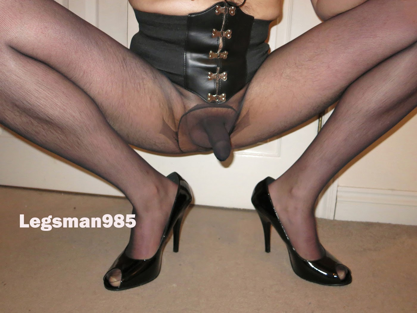 pantyhose with sheath
