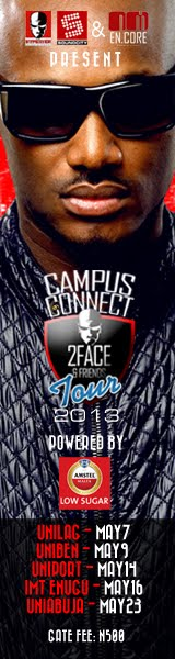 2Face 2013 Campus Tour