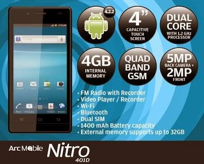 Arc Mobile NITRO 401D