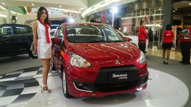 Eksterior Mitsubishi New Mirage Sport 2015