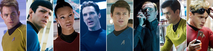 Star Trek Into Darkness Review - Enterprise Crew