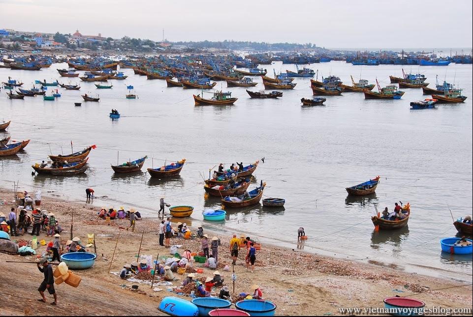 Fish village in Muine, Phan Thiet