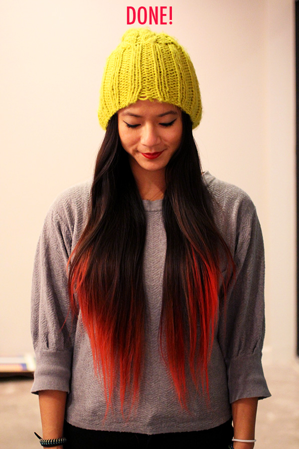 DIY DIP DYE: Koolaid Hair Tutorial - FUJI FILES