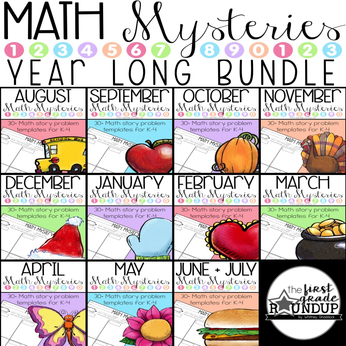 math mysteries bundle