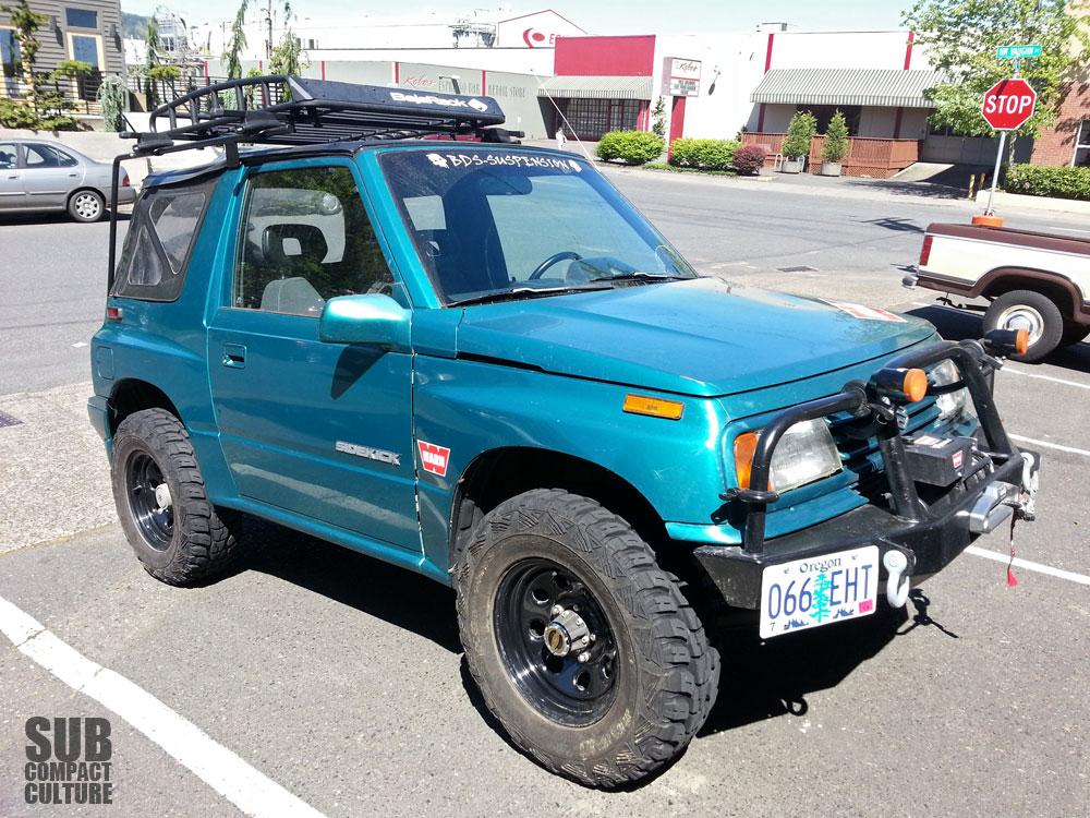Suzuki Sierra Soft Top Roof Rack