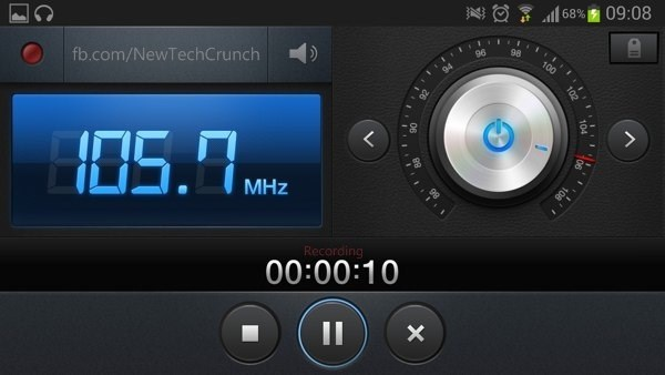Samsung Galaxy S3 Record Radio