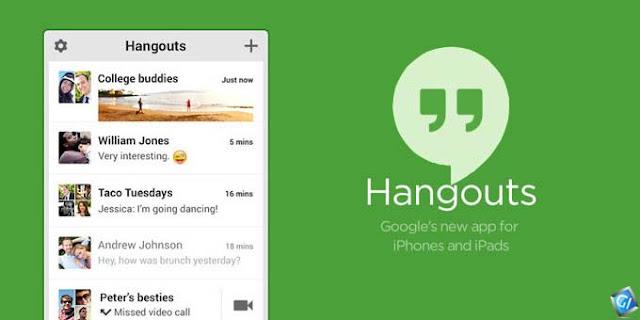 Hangouts iOS App