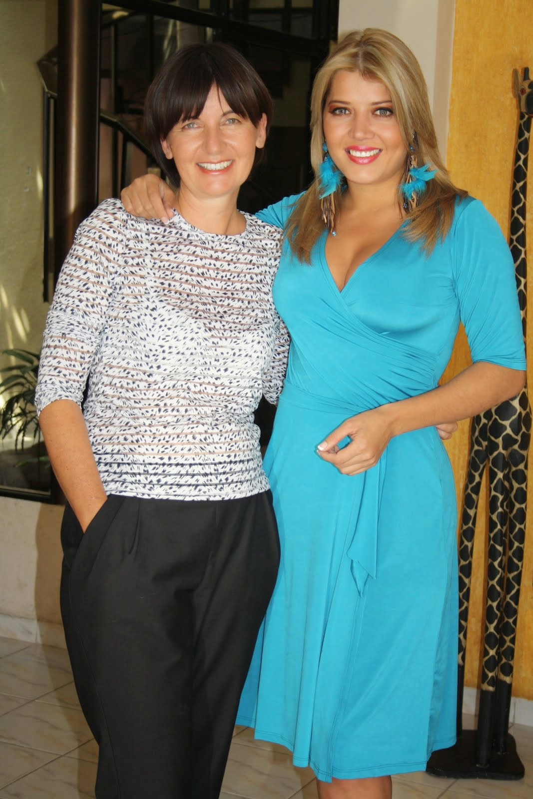 con MARIECRUZ RIBERA
