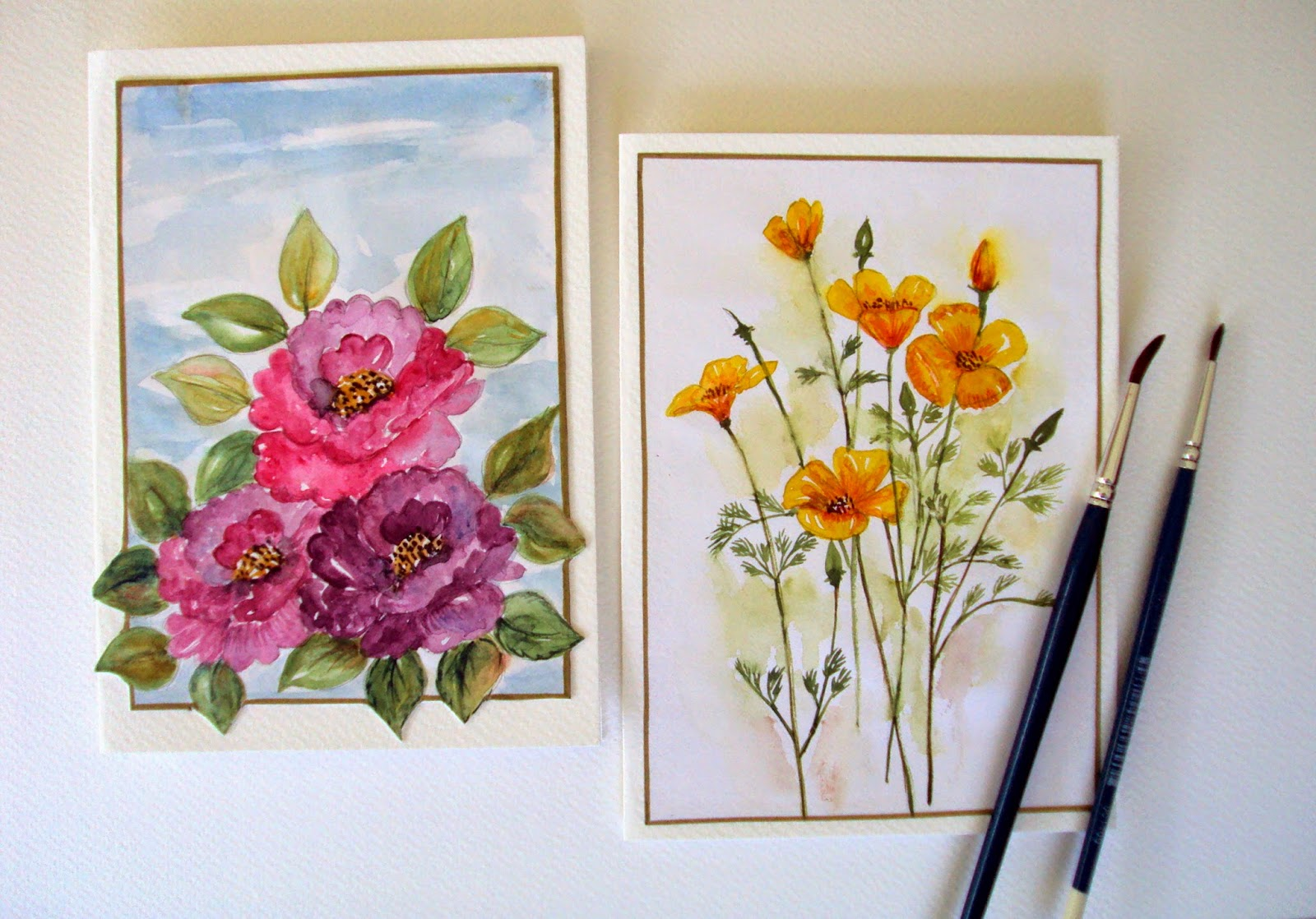 spring,flowers,welcome,seasonal,gardening,greetingcards,watercolor,handpainted