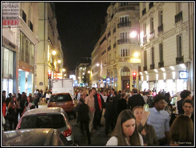 Vogue Fashion Night Out Rue Saint-Honoré Paris 2012