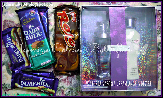 Dairy Milk Mint Crisp, Top Deck &amp; Victoria's Secret Dream Angels Desire