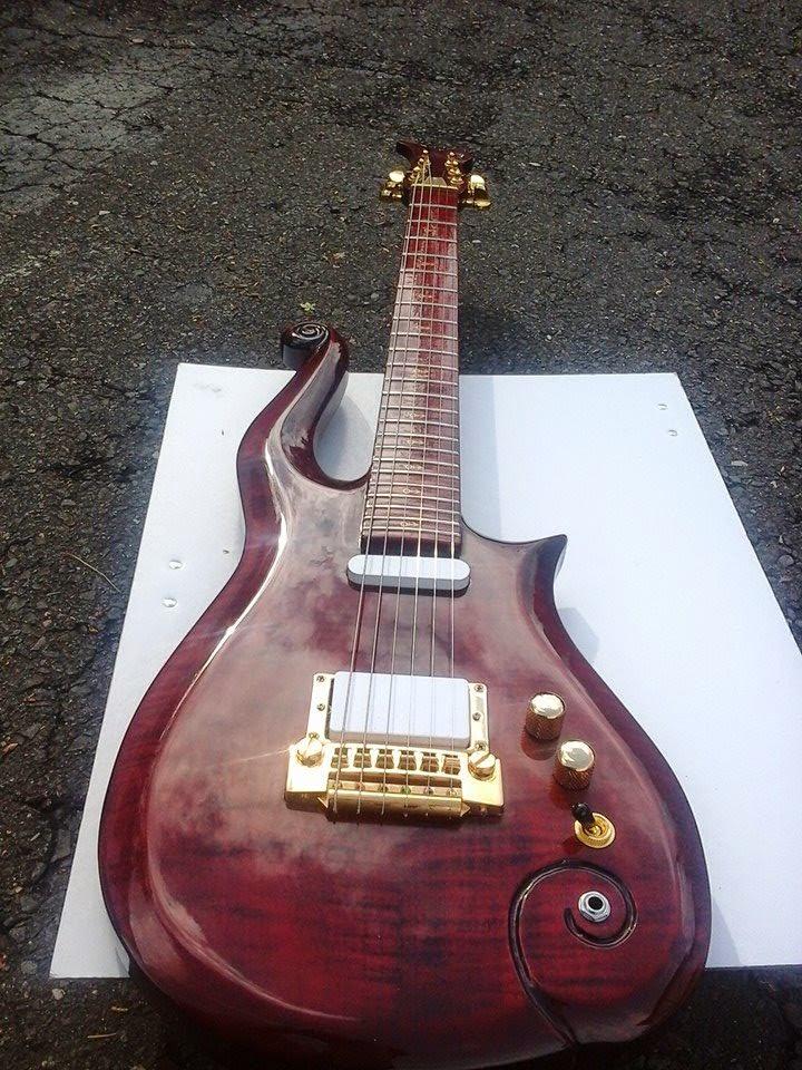 Cloud Guitar Central  K G  U0026 39 S Red Head Cloud