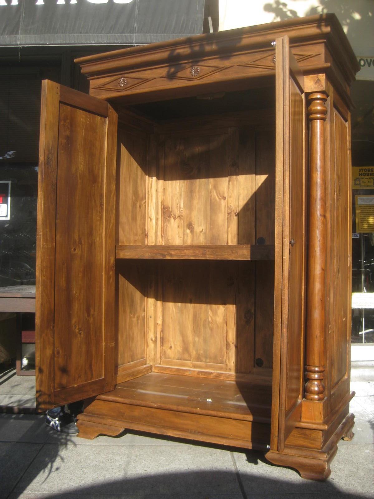 uhuru furniture  u0026 collectibles  sold - large armoire