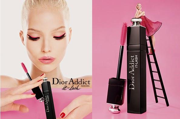 Тушь для ресниц Dior Addict IT-Lash в модном розовом