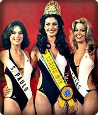 TOP TRES MISS BRASIL 1979