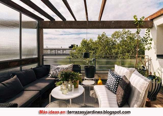 Decoraci n de terrazas terrazas y jardines fotos de - Decoracion de terrazas y jardines ...
