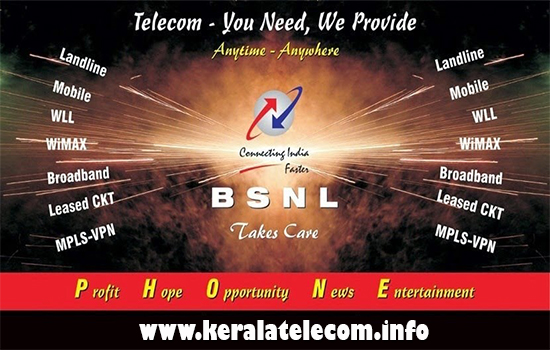 Broadband Internet Technologies deployed by BSNL: ADSL / VDSL / FTTH / WiMax / EVDO / 3G / WiFi