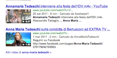 video anna maria tedeschi su google