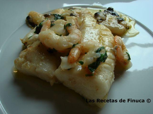 Cocinar Cocochas De Merluza | Las Recetas De Finuca Merluza Con Cocochas Y Gambas