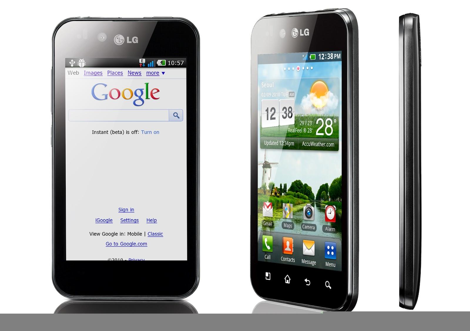 Daftar Harga HP LG Terbaru Januari 2013