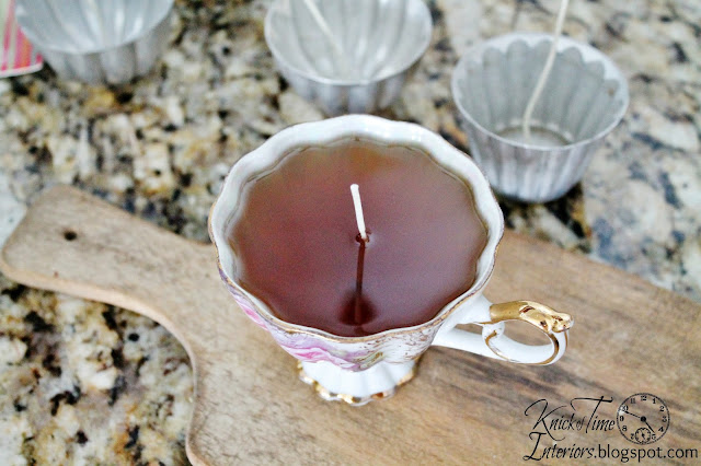 DIY Beeswax Candles-in Repurposed Tins-an Upcycled project-by Knick of Time