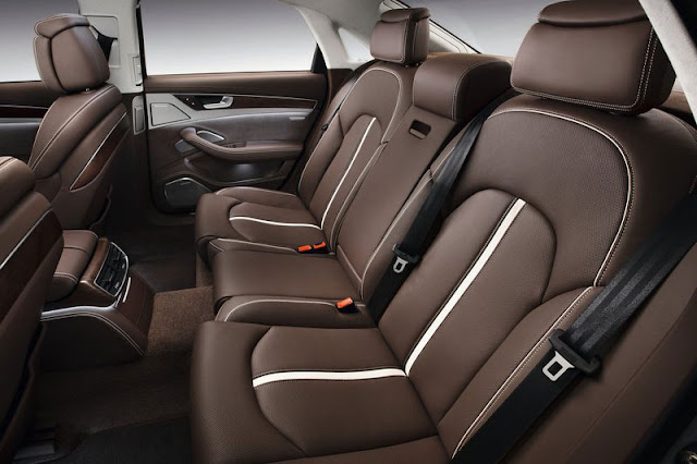 2013 Audi A8 Sedan Back sit Interior