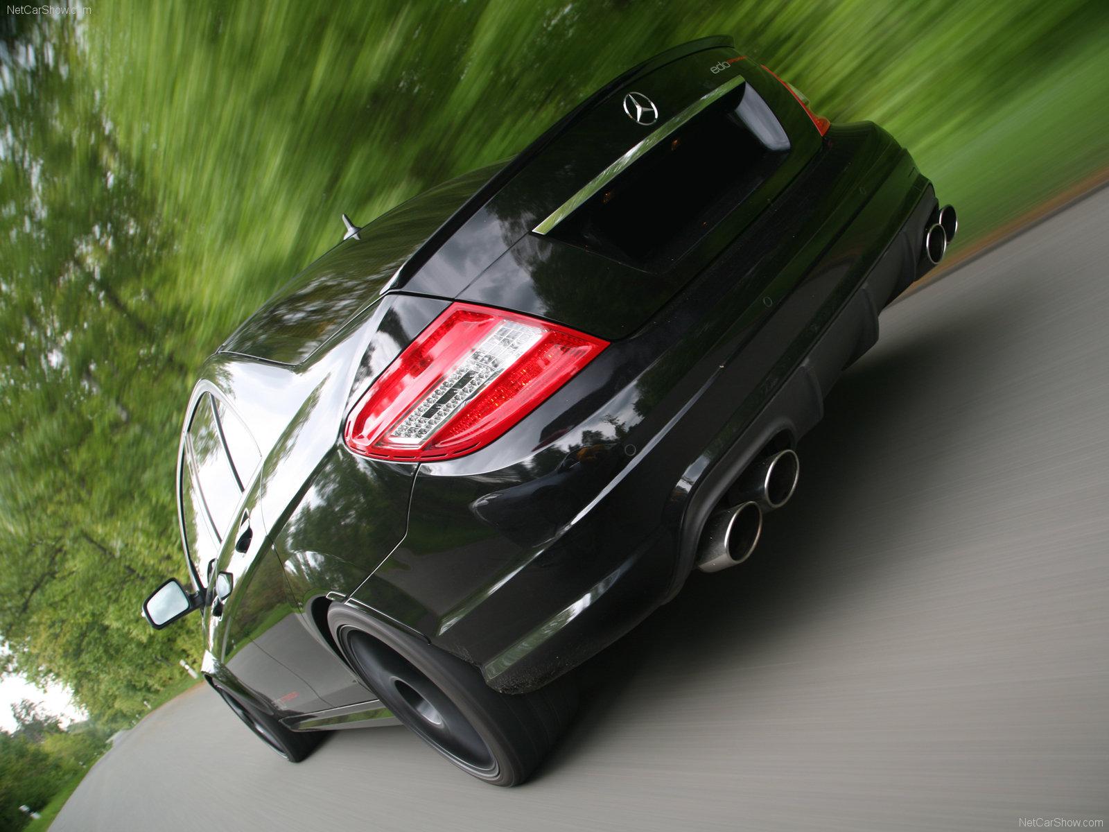 Hình ảnh siêu xe Edo Mercedes-Benz C63 AMG 2009 & nội ngoại thất