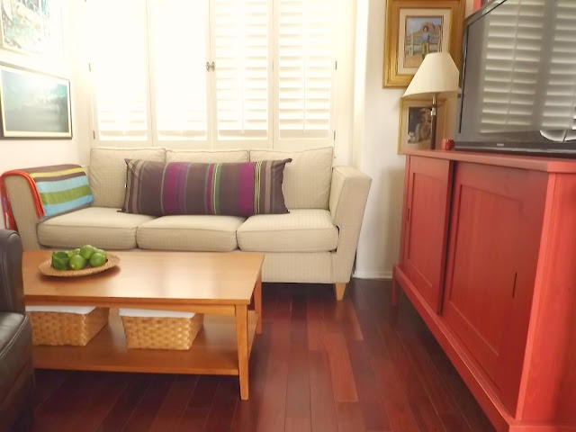 Brazilian cherry wood floor, cherry wood floor, diy wood floor tutorial, engineered wood floor tutorial