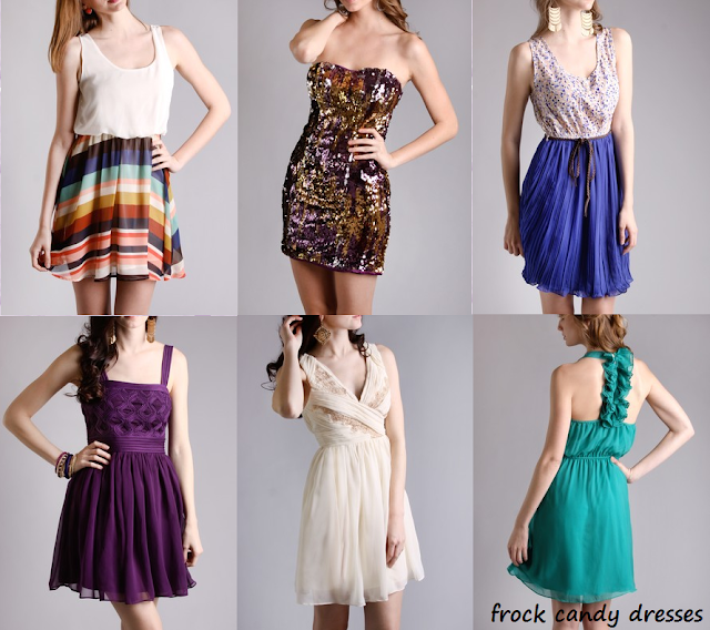 A collection of dresses from Frock Candy